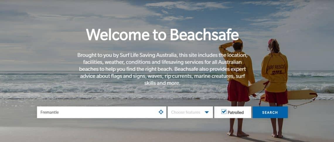 slsa beachsafe app