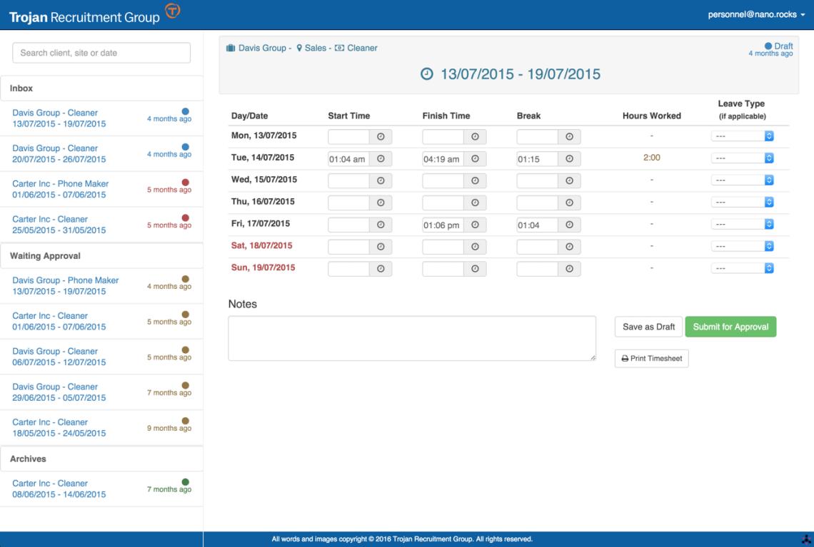timeweb app dashboard